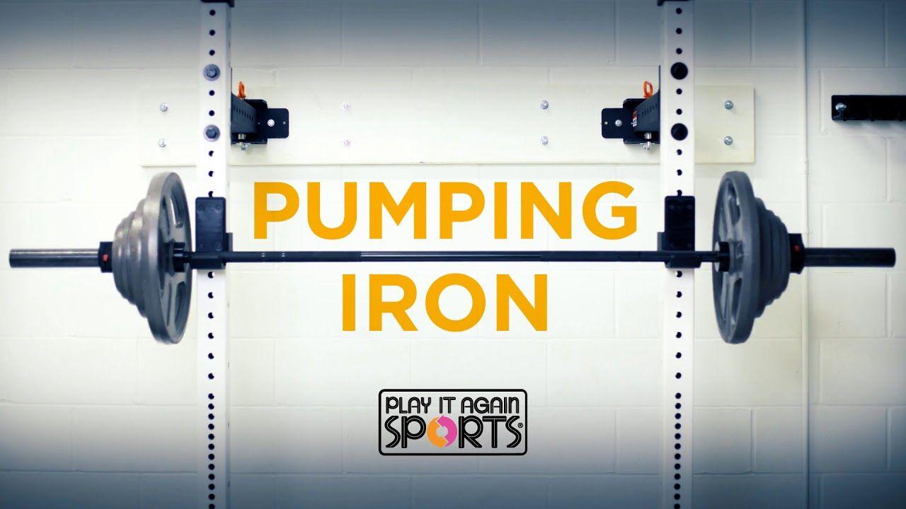 Pumping Iron Play It Again Sports Pumping iron, Sports