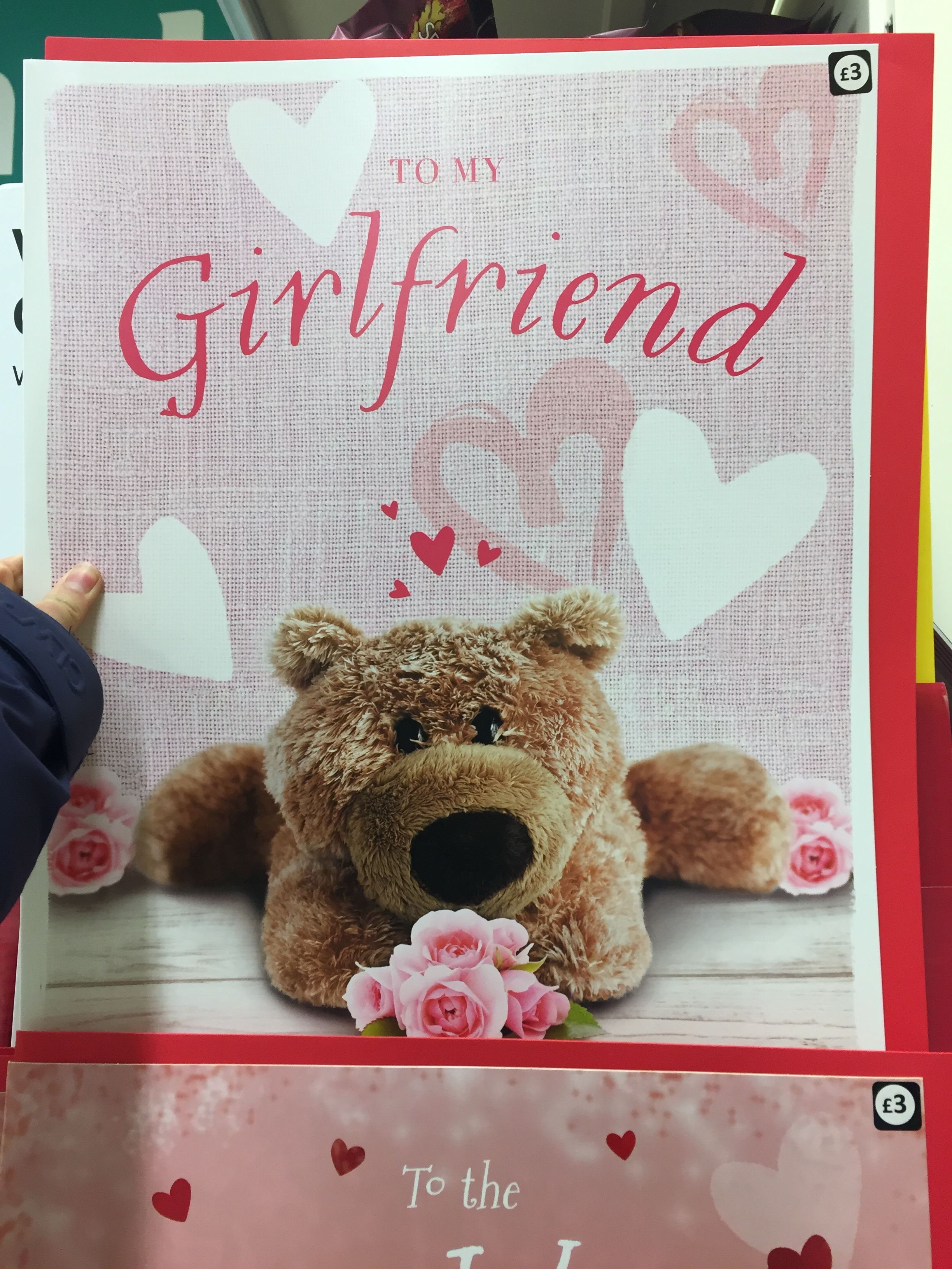 Valentines Day Tesco Me As A Girlfriend Valentines Teddy