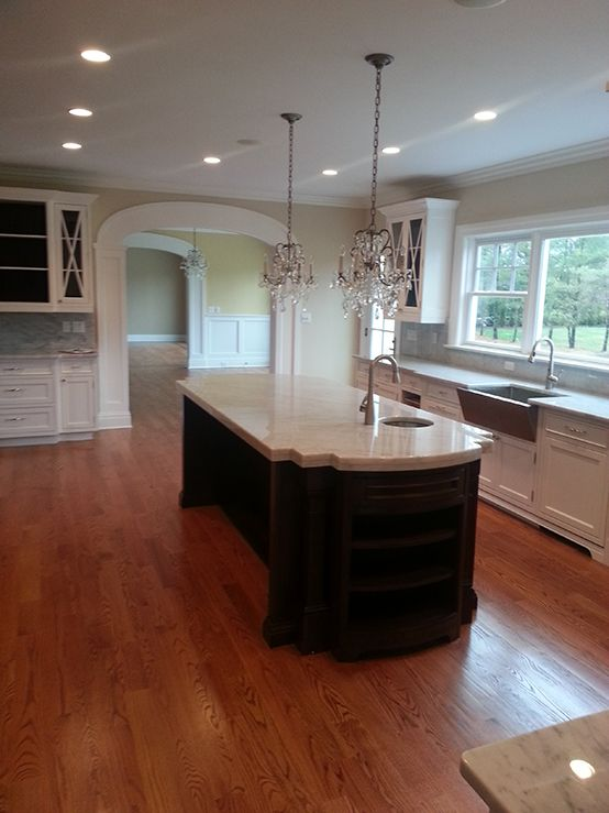 Plain & Fancy Custom Cabinetry designed by Broadway Kitchens and ...
