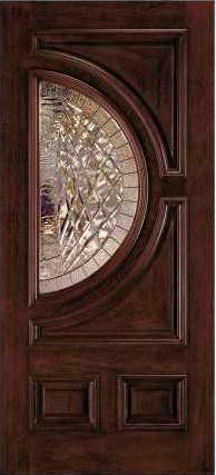 Jeld Wen A250 Aurora Custom Fiberglass Glass Panel Exterior Door From Waybuild Door Glass Design Glass Panel Door Wooden Door Design