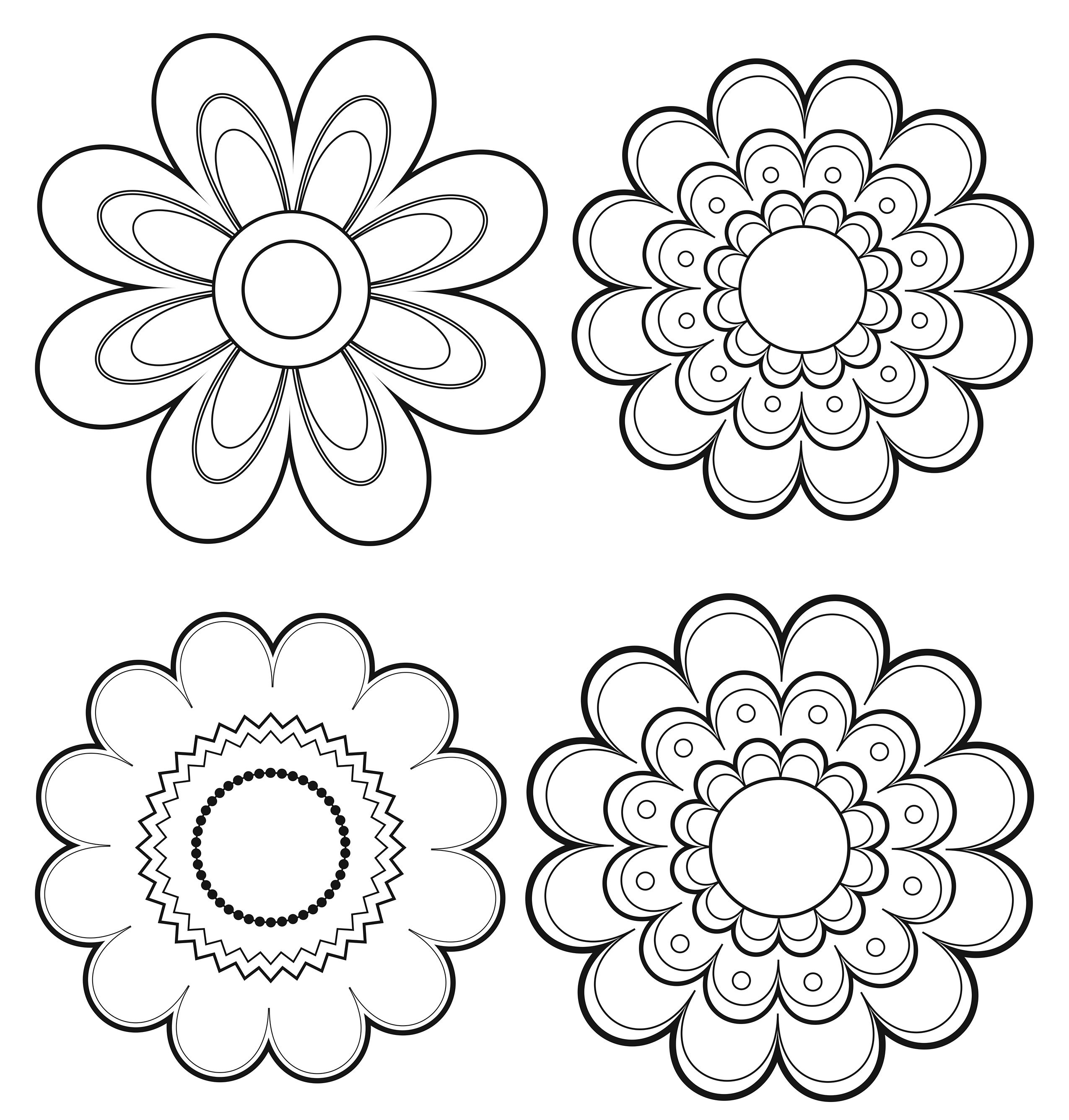 Image Result For Mexican Flowers Clip Art Black And White Mexican Folk Art Painting Mexican Art Mexican Folk Art