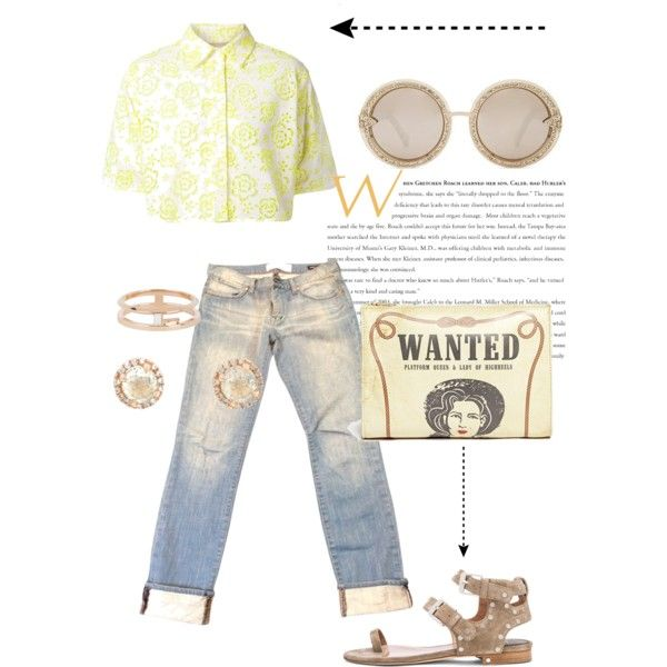 Wanted dead or alive ! by invisible9988 on Polyvore featuring polyvore, fashion, style, Christopher Kane, Paper Denim & Cloth, Laurence Dacade, Charlotte Olympia, Monique Péan, Karen Walker, Sheinside, PolyvoreWishlist, yoins, yoinscollection and justlivedesign