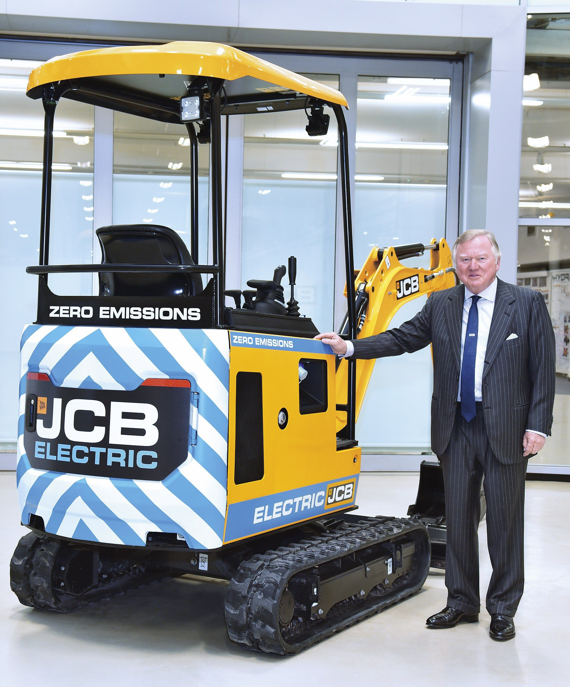 Jcb Launches Electric Mini Digger Product Launch Mini Monster