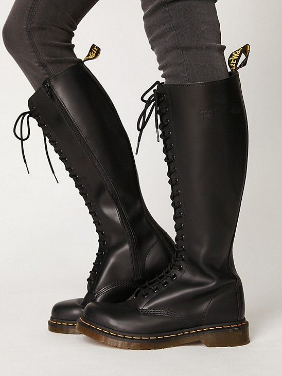 cc89fa36057a64 Dr. Martens 20 Eye Zip Boot at Free People Clothing Boutique