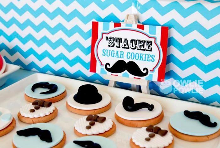 Little Man Mustache Baby Shower Party Ideas Supplies Idea Cake Idea