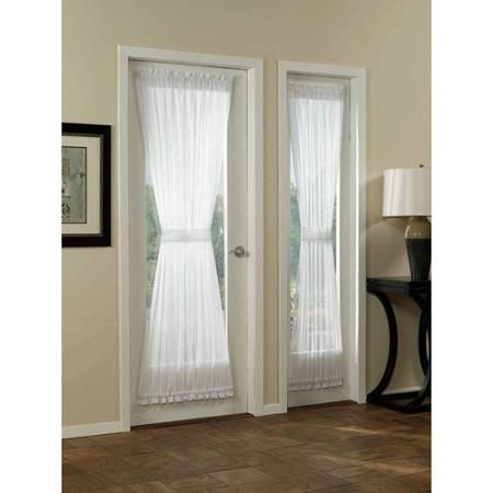 Mainstays Marjorie Sidelight Curtain Panel - Walmart.com