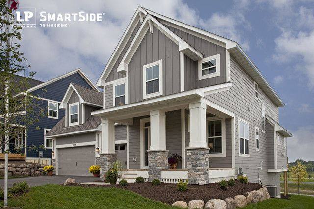 This Home Features A Duo Of Lp Smartside Lap Siding And Cedar Shakes Exterior House Colors House Siding House Exterior