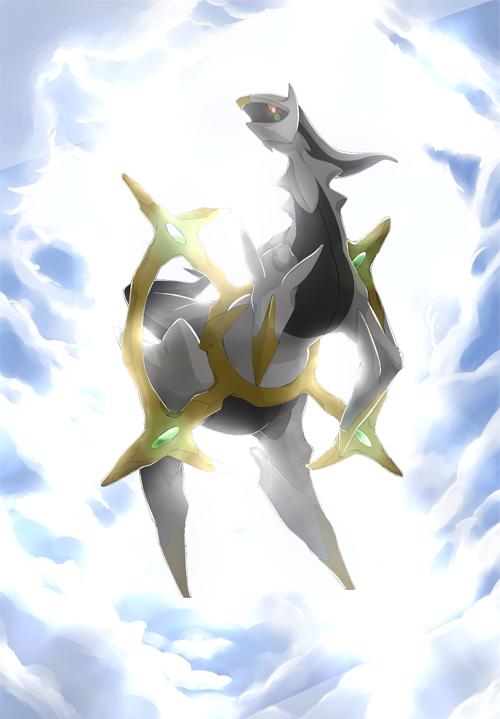 アルセウス Pokemon Mewtwo Pokemon Pictures Mythical Pokemon