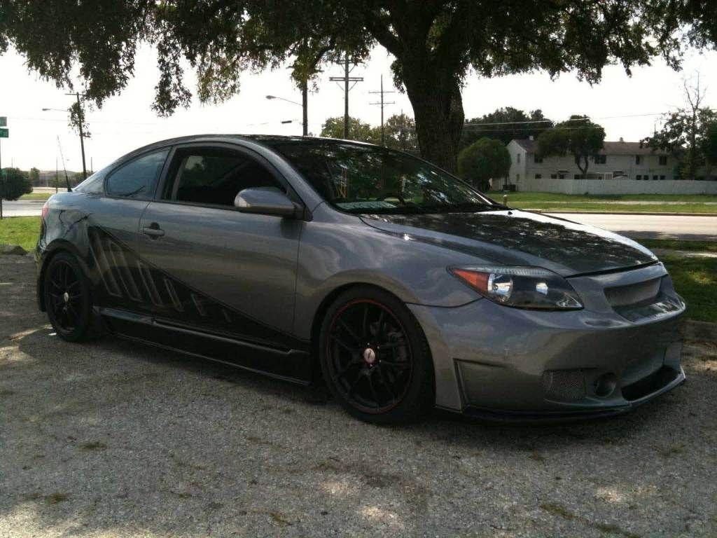 Scion tc hatchback black