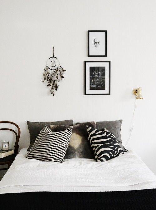 hannasinspo - cushions + gold lamp