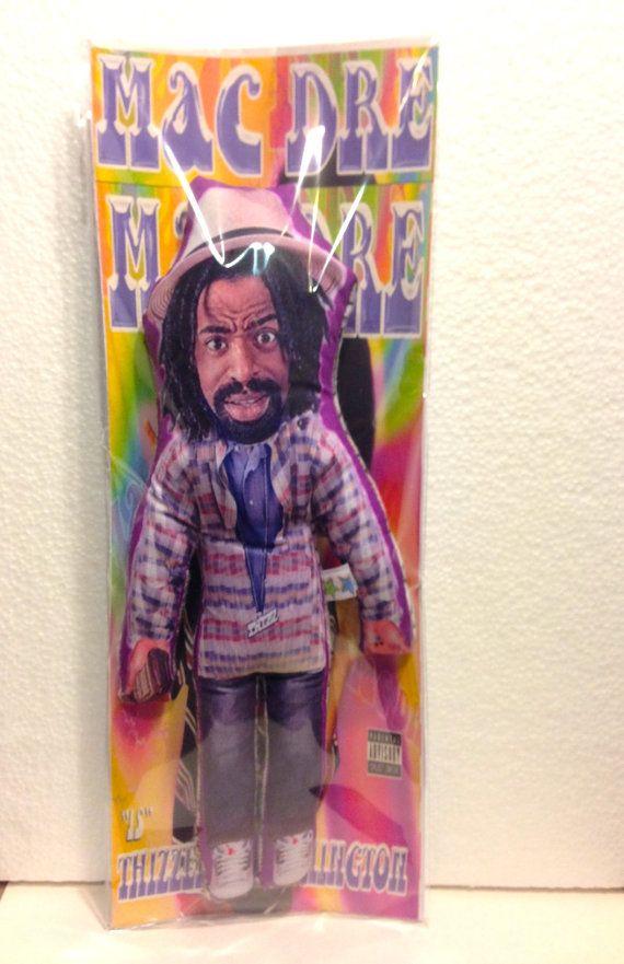 Mac Dre Stuffed Star Custom doll Handmade by