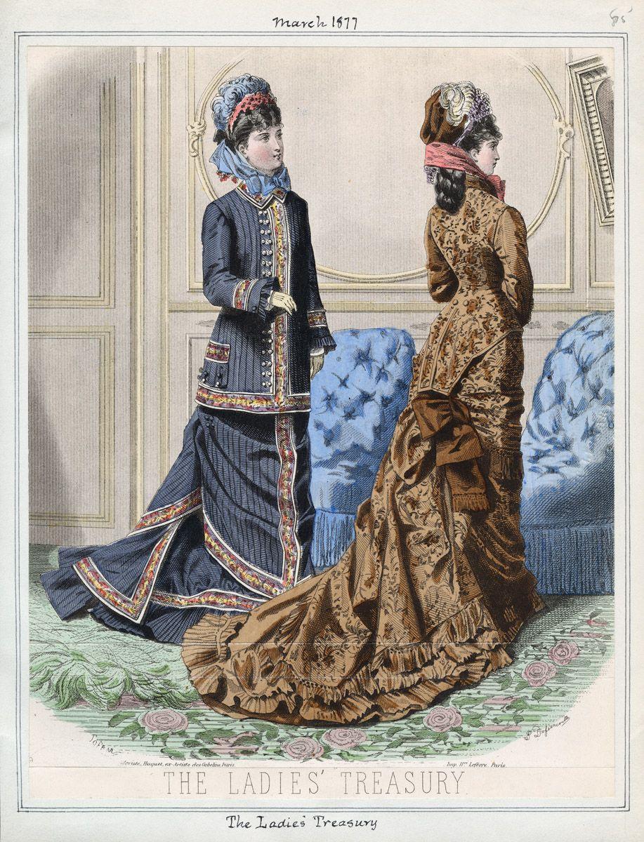 The Ladies' Treasury March 1877 LAPL