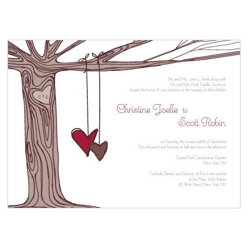 Super cute wedding invitations