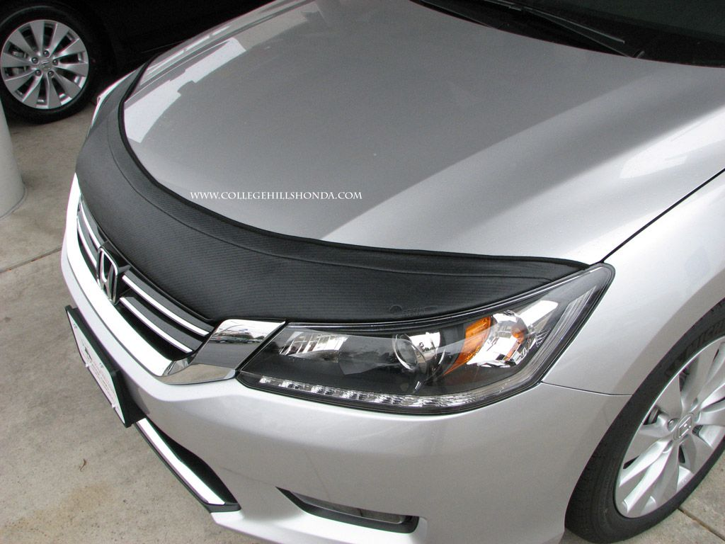 Accord sedan custom carbon fiber sport bra college hills honda