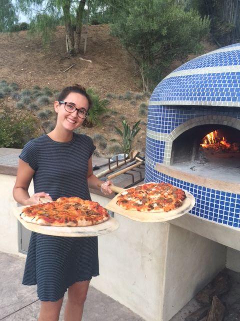 Custom Napolino and Vesuvio Pizza Ovens - Forno Bravo ...