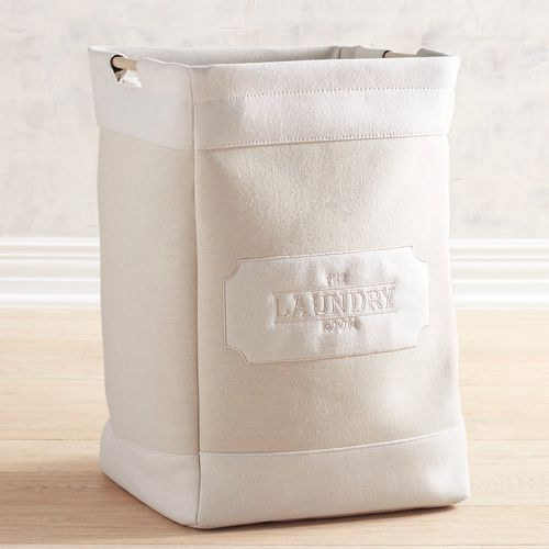 Jacques Canvas Laundry Hamper With Handles In 2019