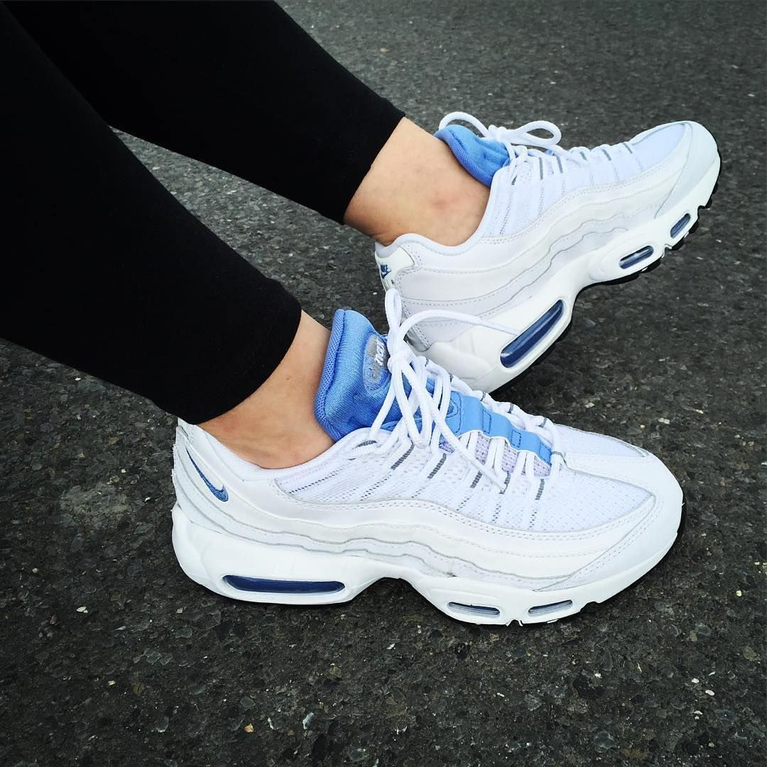 the latest b89b6 2e368 Blog Sneakers - Nike Air Max 95 (©marthamcfly) Adidas Women s Shoes - amzn. to 2hIDmJZ