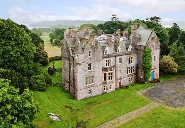 Auchencairn Castle Douglas Dg7 1ql Properties For Sale Buy Houses Flats In Auchencairn Castle Douglas Dg Scottish Castles For Sale Castle Buying Property