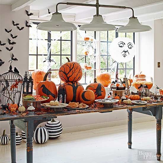 Creative Ideas for Halloween Party Themes Monster party, Halloween - halloween party decorations adults