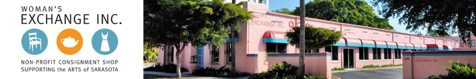 Sarasota Woman's Exchange Consignment Shop One of my favorite places!