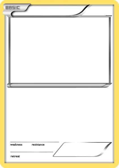 Trading Card Game Template Free Download Trading Card Regarding Trading Cards Templates In 2020 Trading Card Template Pokemon Card Template Pokemon Birthday Party