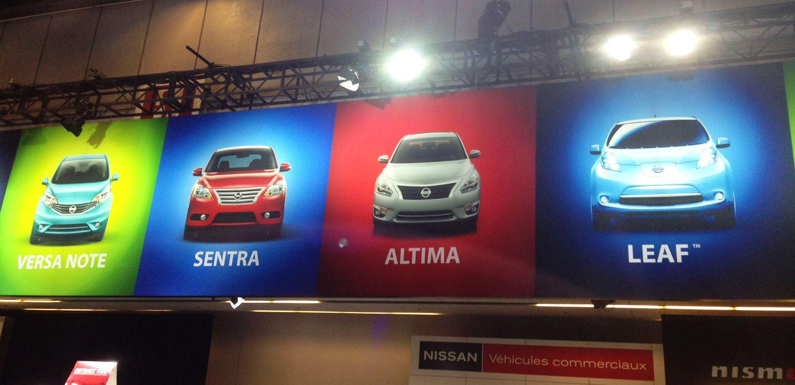 Montreal Auto Show Nissan banner