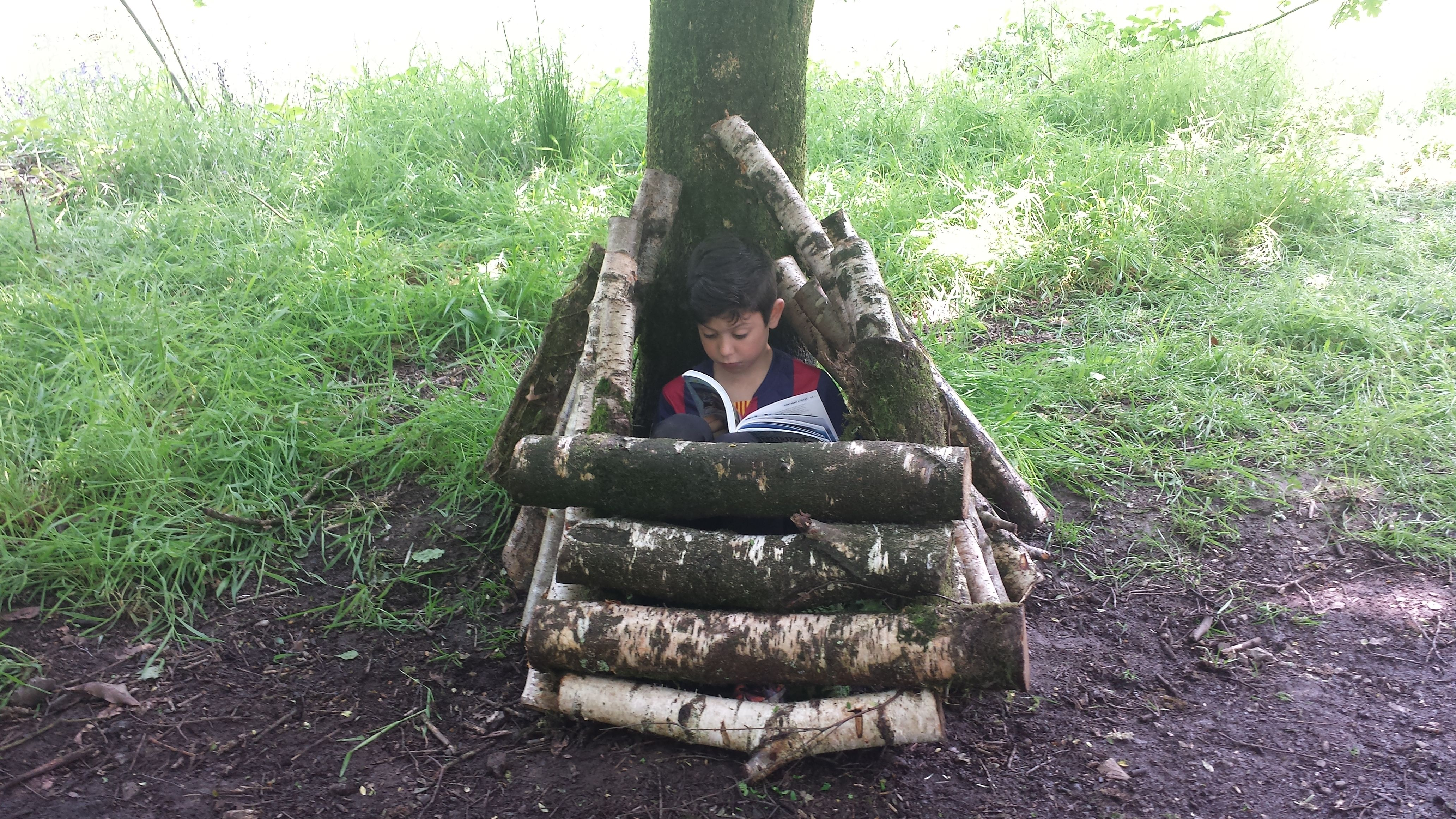A Reading Space In Woodland Classroom S Wildcraft