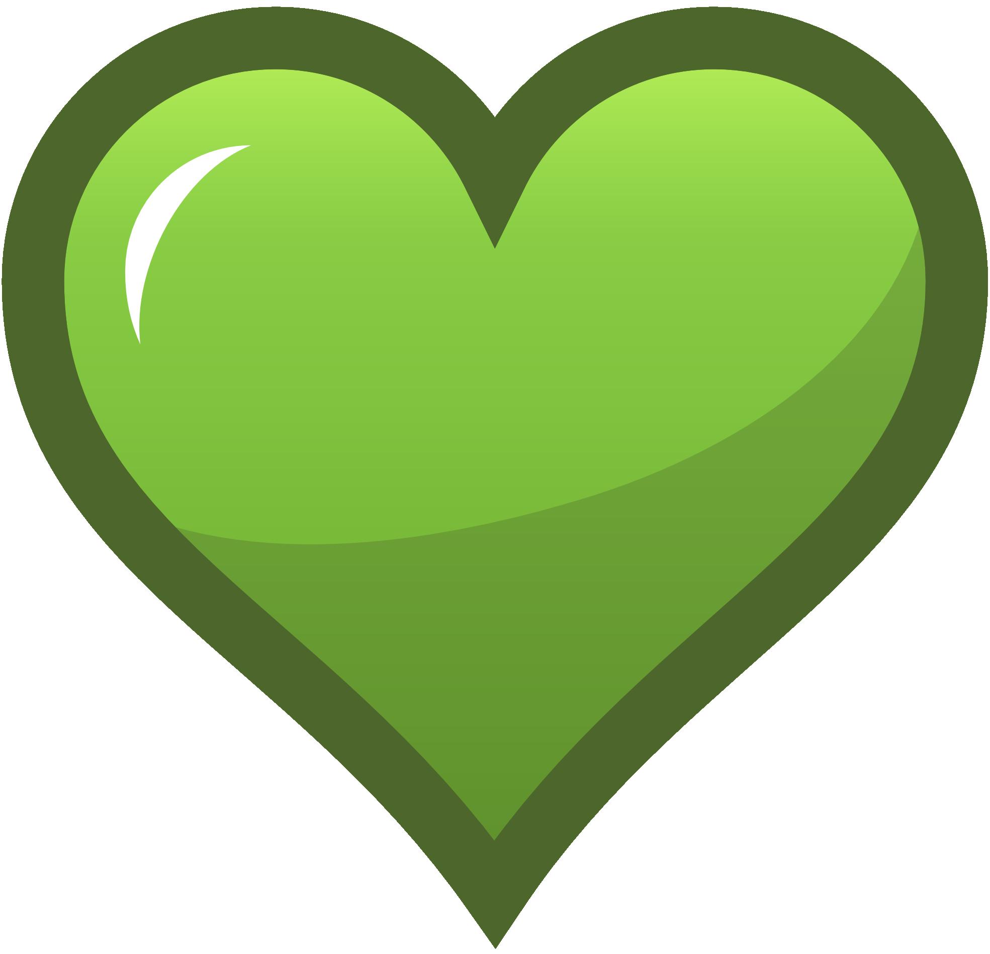 Green heart clip art Heart icons, Clip art, Heart clip art
