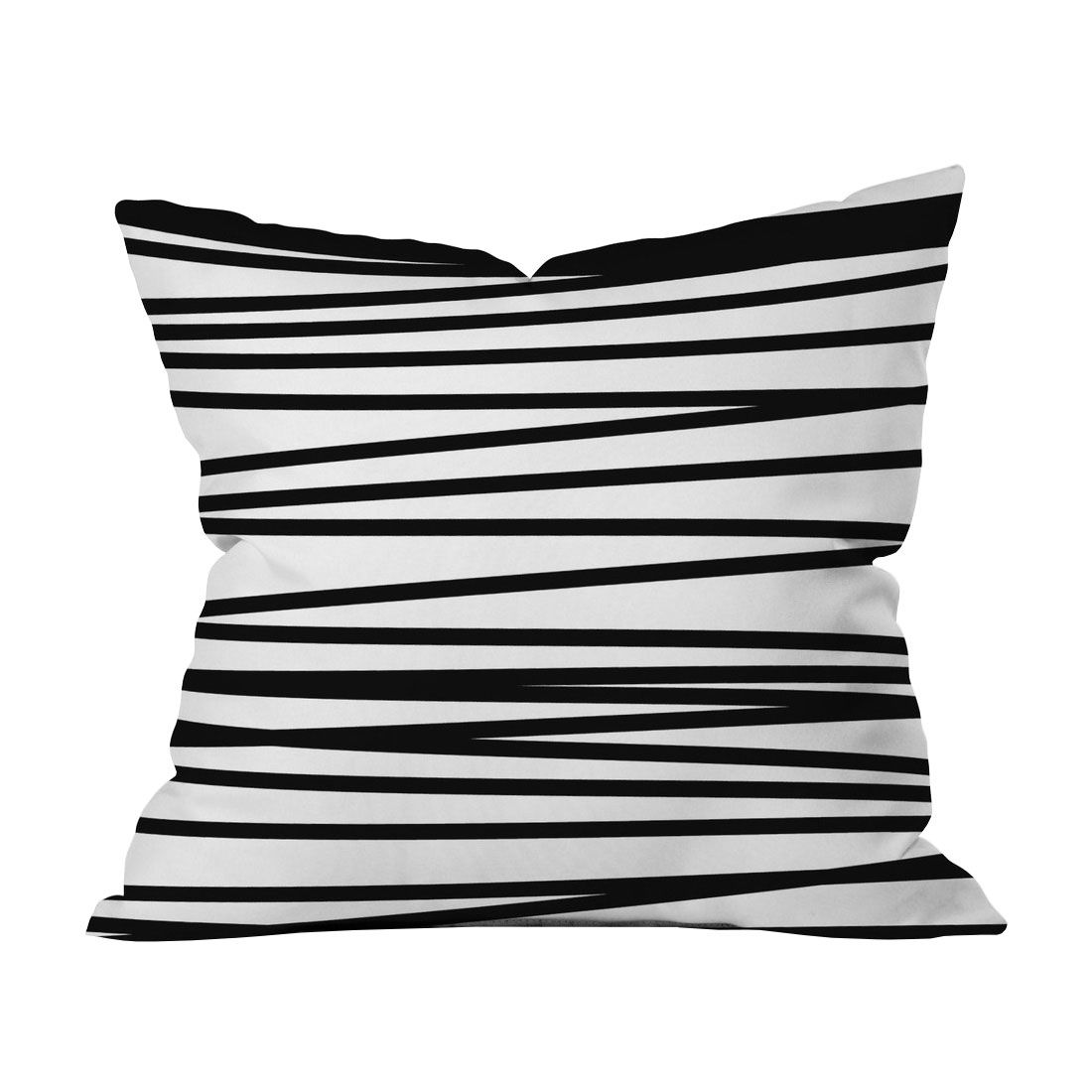 Luminescence Metallic Zebra Oversize Square Throw Pillow White Mina Victory In 2020 Throw Pillows Throw Pillows White Modern Throw Pillows