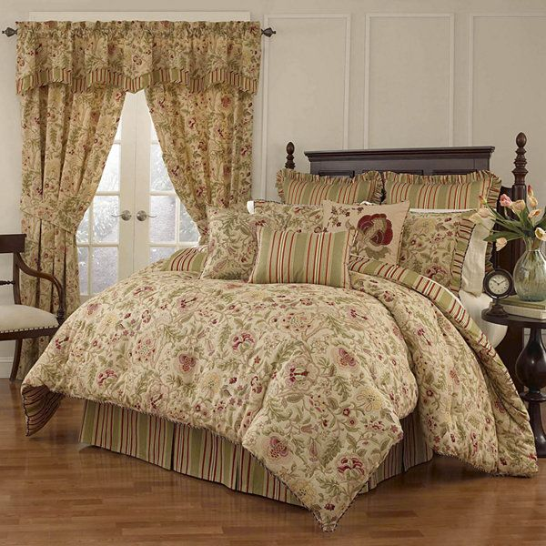Waverly Imperial Dress Antique 4 Pc Comforter Set Jcpenney