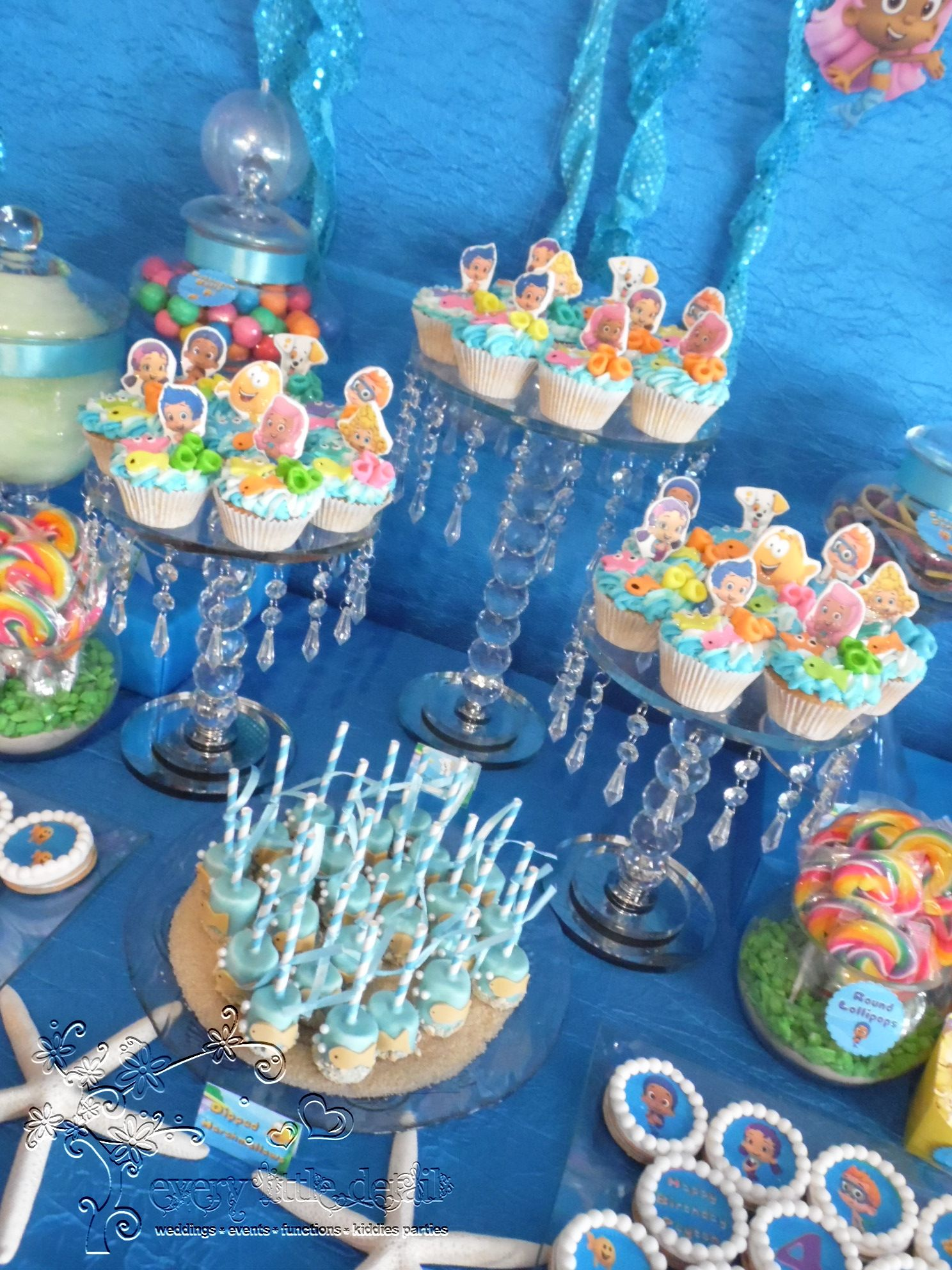 Bubbleguppies Dessert Table