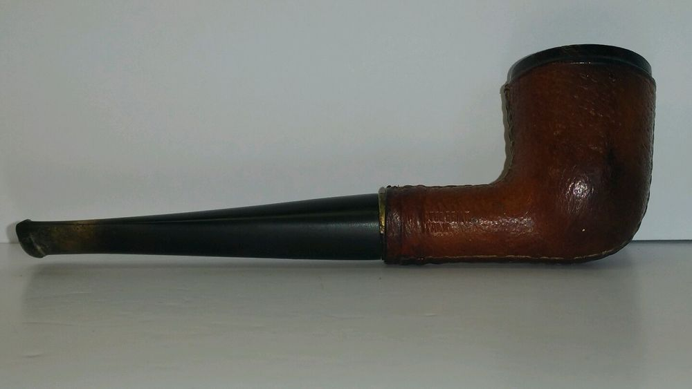 Vintage Whitehall Leather Wrapped Imported Briar Italy
