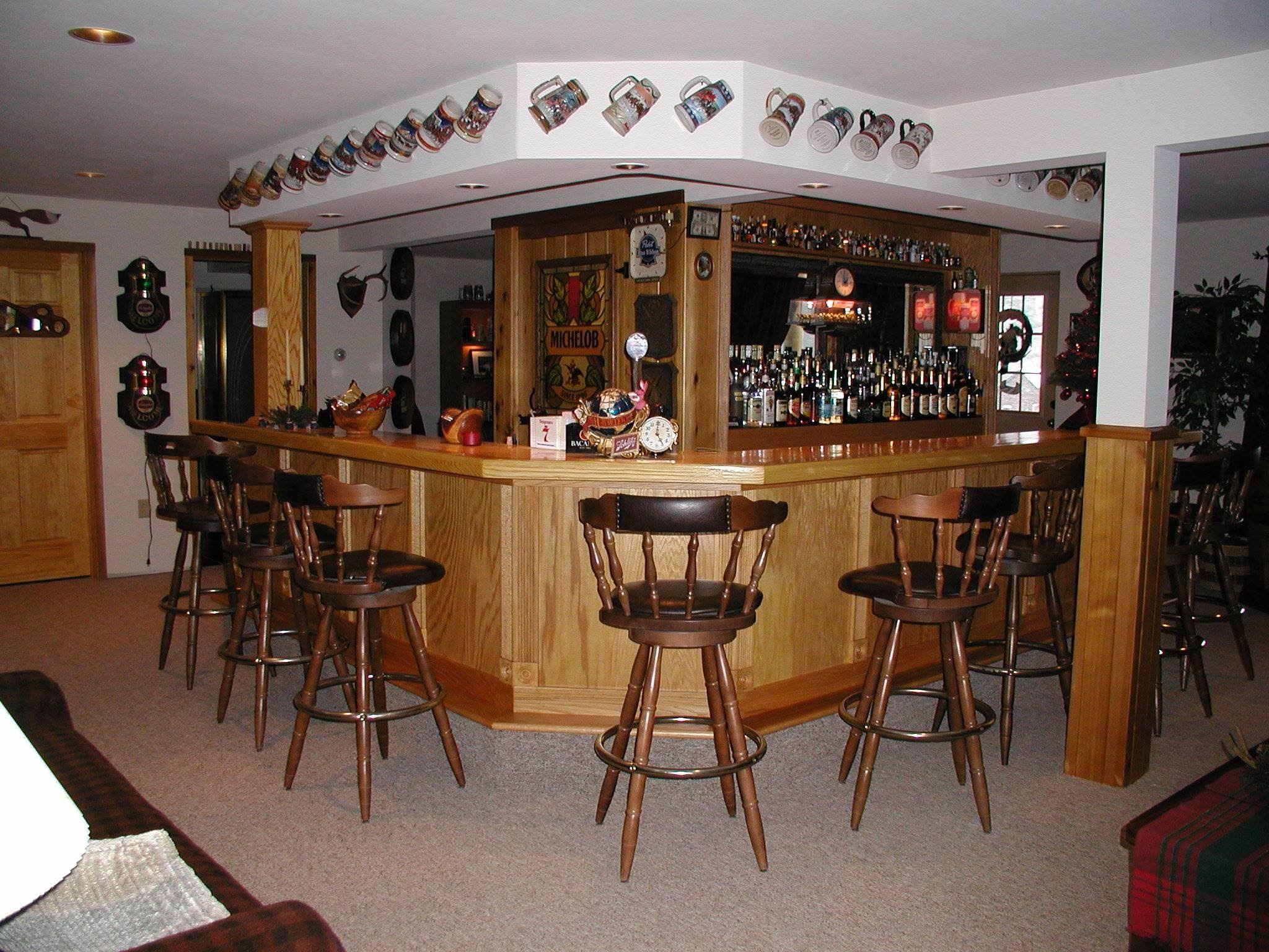Home Garage Bar Ideas