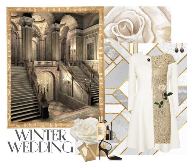"""Winter Wedding"" by sophie36811 ❤ liked on Polyvore featuring PTM Images, Carolina Herrera, Adrianna Papell, Allstate Floral, NARS Cosmetics, Tom Ford, Viktor & Rolf, Sephora Collection, Gianvito Rossi and guest"