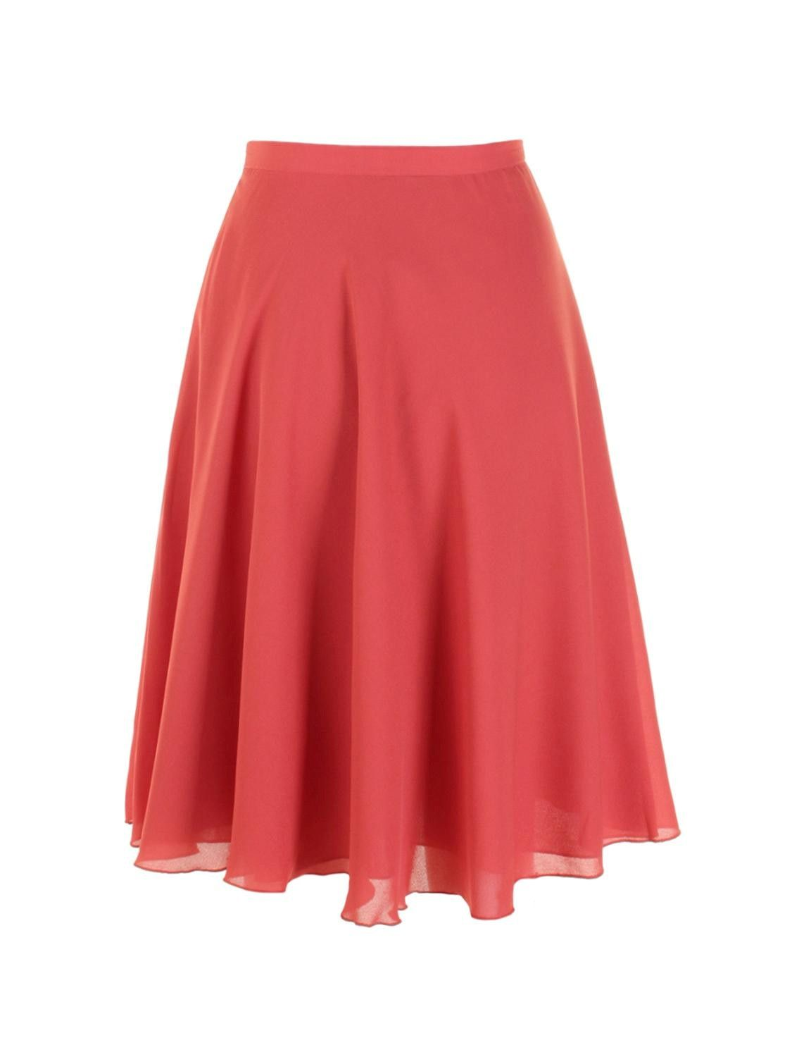 5eebbefcb7 Fluted Midi Skirt - Red | Missionary!!! | Skirts, Skirt fashion, Fashion