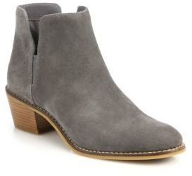184a33a5c Cole Haan Abbot Suede Booties Cole Hann Shoes