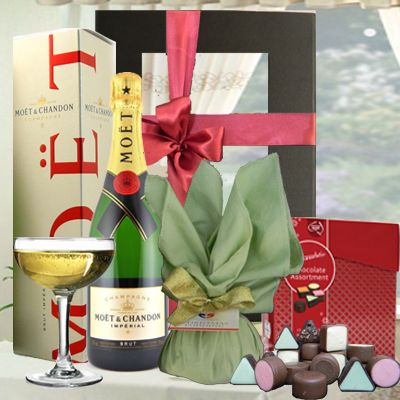 Christmas Champagne Gift Gift Baskets Hampers Gift