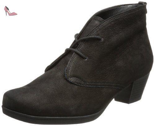 Gabor Shoes Gabor 52.984 Bottes Classiques Femme, (Schwarz Micro-57), 41 EU