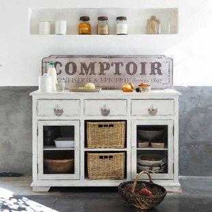 Cuisine Cuisine Pinterest Vaisselier Maison Du Monde Et - Maison du monde meuble de cuisine pour idees de deco de cuisine