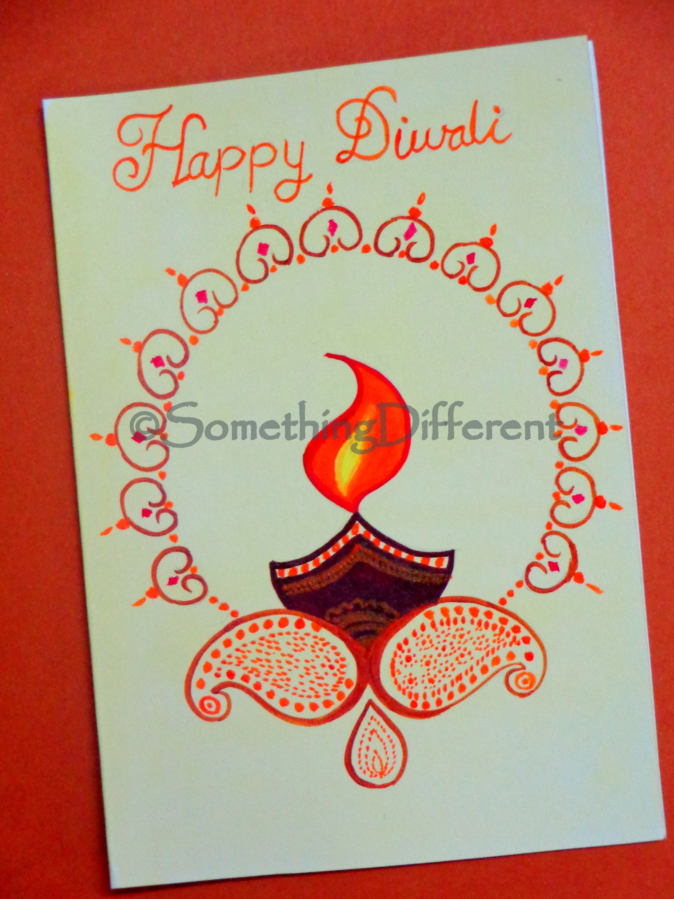 Diwali greeting card diwali greeting cards pinterest diwali diwali greeting card m4hsunfo