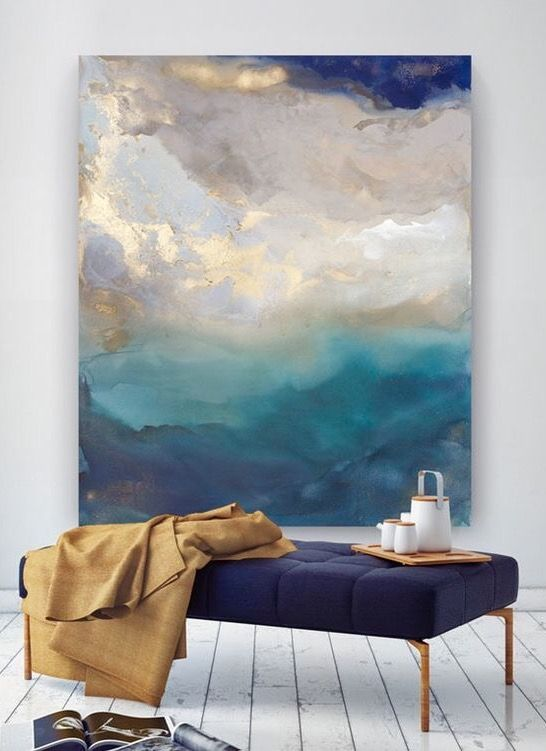 Printable Abstract Art In Navy Blue And Gold Downloadable Blue Etsy In 2021 Poster Wall Art Abstract Wall Art Blue Abstract Art