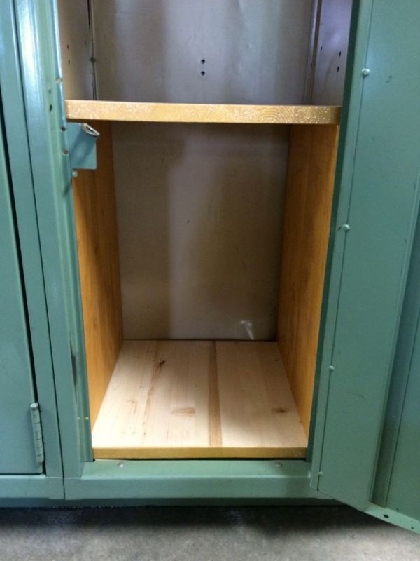 Making Wooden Locker Shelves Locker Shelves Lockers And