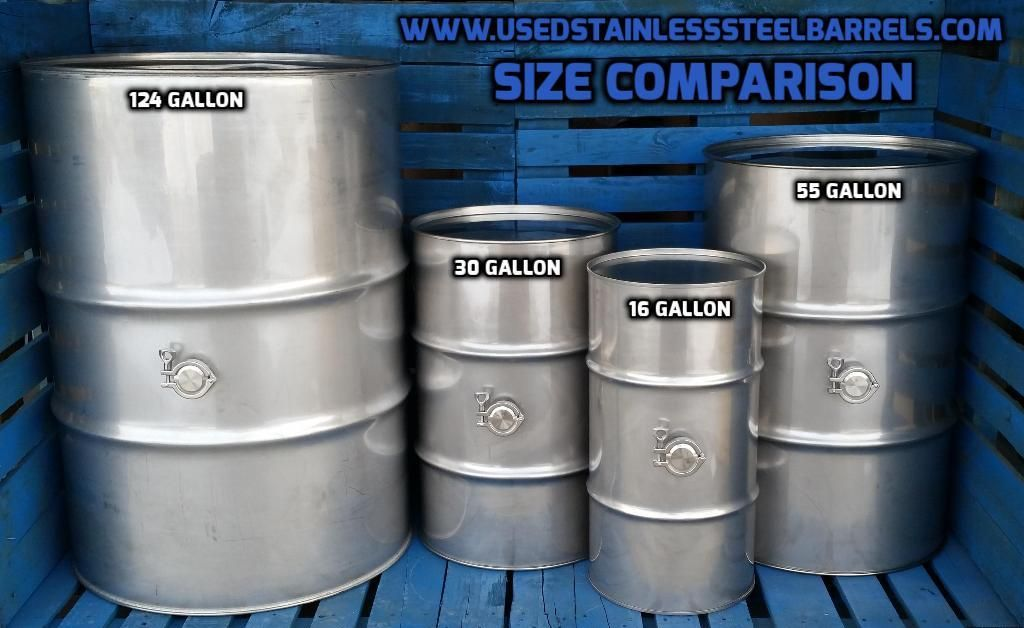 New Stainless Steel Wine Barrels And Drums Just Came In 16 Gallon 30 Gallon 55 Stainless Steel Table Legs Stainless Steel Table Stainless Steel Accessories