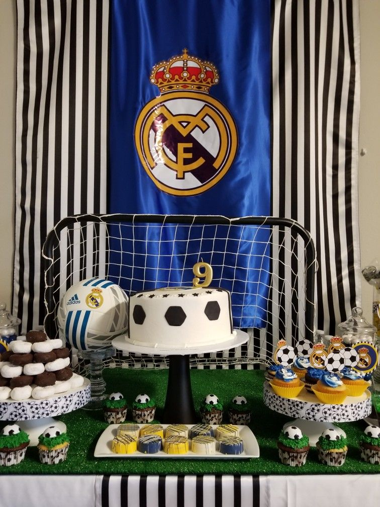 Real Madrid Theme Surprise Birthday Party For My Son Jorge Party