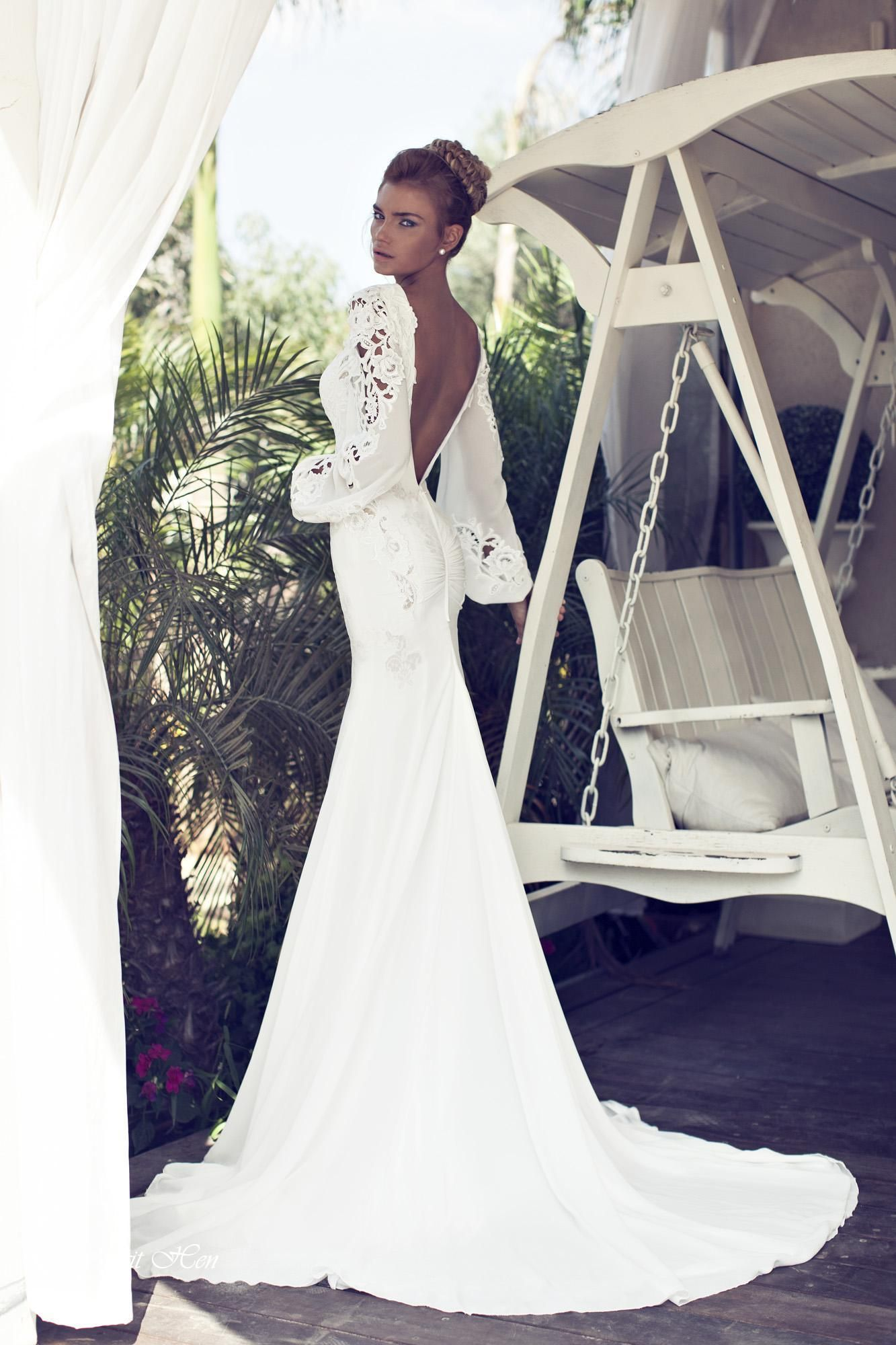 Created by love collection nurit hen bridal dress pinterest