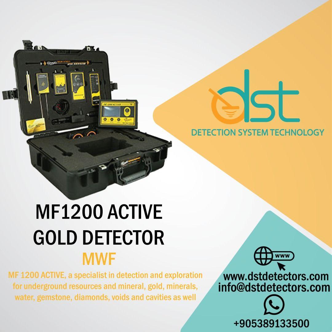 Multifunctional Detector Mf 1200 Active The Best Long Range Detector Gold Detector Detector Remote Sensing