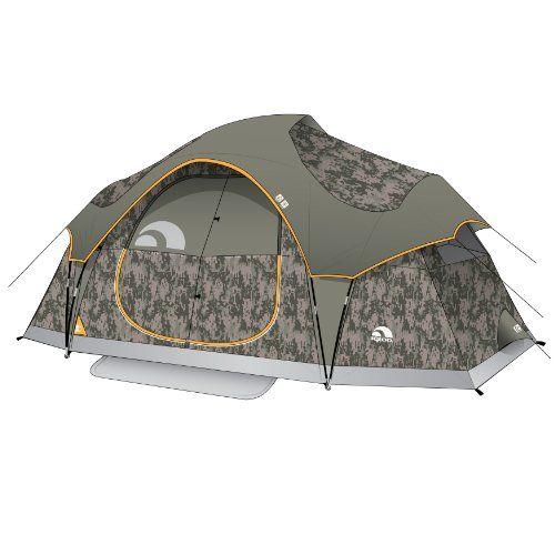 $174 Igloo Sportsman Twin Lakes II 2-Room Family Dome Tent (6-Person  sc 1 st  Pinterest & $174 Igloo Sportsman Twin Lakes II 2-Room Family Dome Tent (6 ...