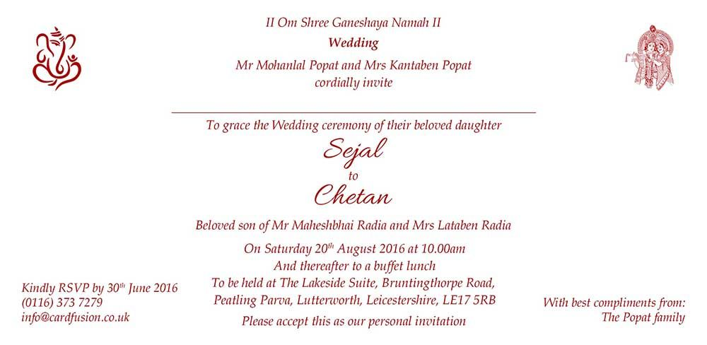 An example of how your invitation insert would look #insert #wording - best of formal invitation salutations