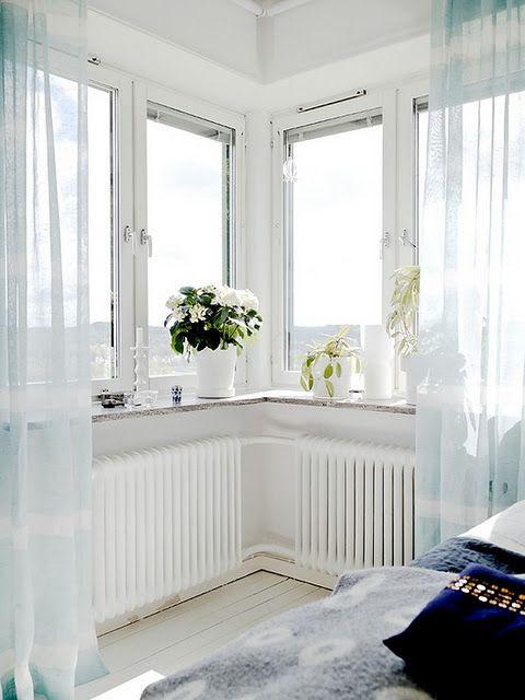 rustic white home decor #bed