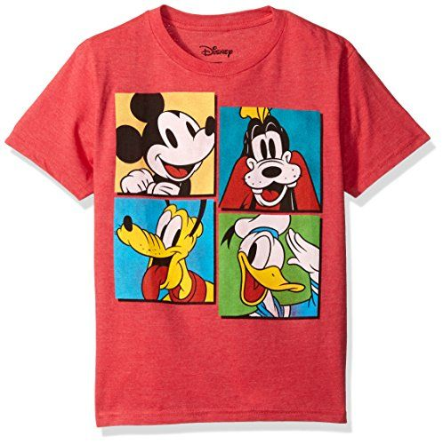 Disney  Big Girls   T-Shirt Mickey and Friends Goofy Donald Pluto Tee  Size  XL